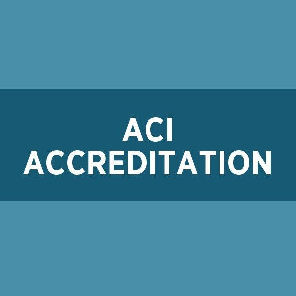 ACI Accreditation (CPAA)