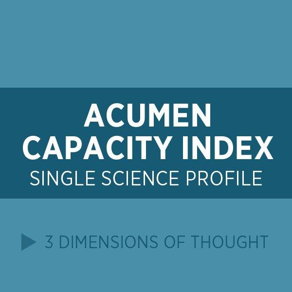 Acumen Capacity Index (ACI)