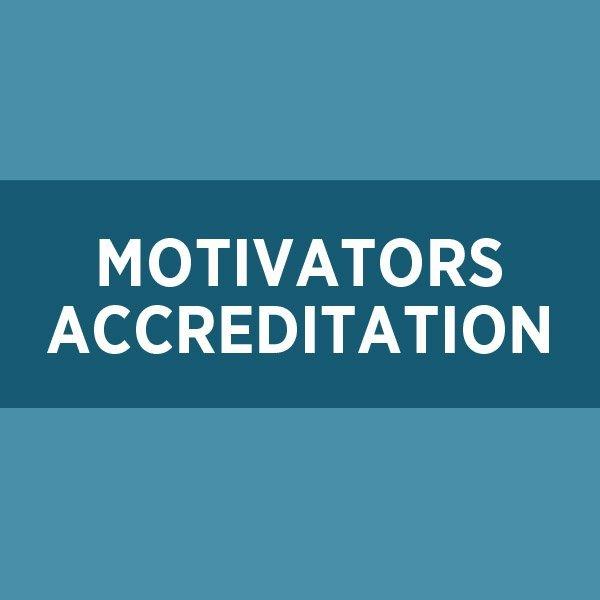Motivators Accreditation (CPMA)