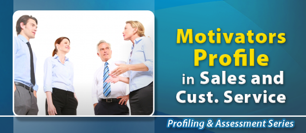 Motivators Profile in Sales & Customer Service