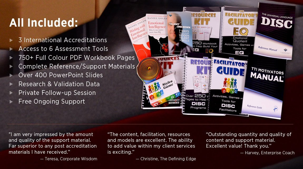 DISC 6-in-1 Accreditation Resources