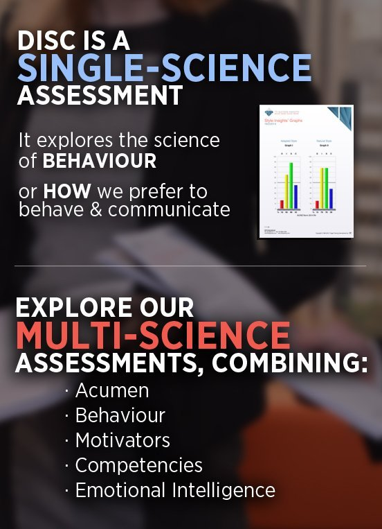 DISC Profile - Multi–science Behavioural Assessment