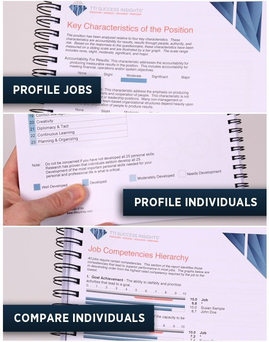 DNA Reports for People & Jobs